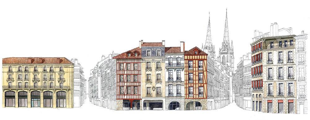 galerie dessins bayonne par dominique duplantier